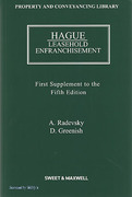 Cover of Hague on Leasehold Enfranchisement 5th ed: 1st Supplement