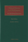 Cover of Sale of Shares and Businesses: Law, Practice and Agreements