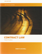 Cover of Contract Law Textbook
