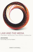 Cover of Law and the Media: For Print, Broadcast and Online Journalism