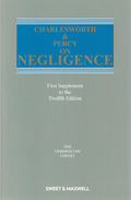 Cover of Charlesworth & Percy on Negligence 12th ed: 1st supplement
