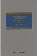 Cover of Bullen & Leake & Jacob's Precedents of Pleadings 17th ed