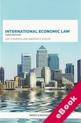 Cover of International Economic Law (eBook)