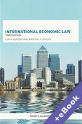 Cover of International Economic Law (Book & eBook Pack)