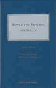 Cover of Rowlatt on Principal and Surety