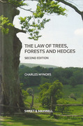 Cover of The Law of Trees, Forests and Hedgerows