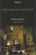 Cover of Treitel: The Law of Contract