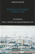 Cover of Gower & Davies: Principles of Modern Company Law