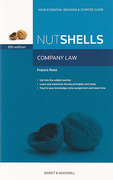 Cover of Nutshells Company Law