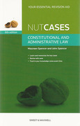Cover of Nutcases Constitutional and Administrative Law