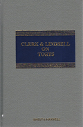 Cover of Clerk & Lindsell On Torts 20th ed with 2nd Supplement