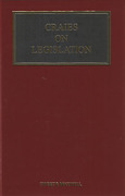 Cover of Craies on Legislation: A Practitioner's Guide to the Nature, Process, Effect and Interpretation of Legislation
