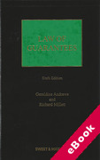 Cover of Law of Guarantees (eBook)
