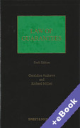 Cover of Law of Guarantees (Book & eBook Pack)