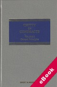 Cover of Chitty on Contracts 31st ed: Volume 1 General Principles (eBook)
