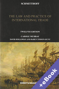 Cover of Schmitthoff: The Law and Practice of International Trade (Book & eBook Pack)