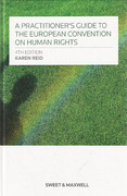 Cover of A Practitioner's Guide to the European Convention on Human Rights