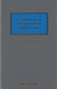 Cover of Handbook of Investment Arbitration: Commentary, Precedents and Models for ICSID Arbitration