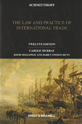 Cover of Schmitthoff: The Law and Practice of International Trade