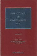 Cover of Burnett-Hall on Environmental Law
