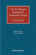 Cover of The EU Merger Regulation: Substantive Issues