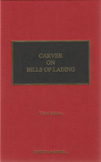 Cover of Carver on Bills of Lading