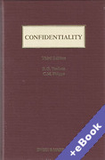 Cover of Confidentiality (Book & eBook Pack)