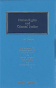 Cover of Human Rights and Criminal Justice