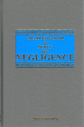 Cover of Charlesworth & Percy on Negligence 12th ed with 3rd Supplement