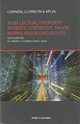 Cover of Intellectual Property: Patents, Copyright, Trade Marks and Allied Rights
