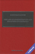 Cover of Lightman & Moss: Law of Receivers and Administrators of Companies 5th ed with 1st Supplement  (Book & eBook Pack)