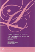 Cover of A Practitioner's Guide to the UK Financial Services Rulebooks