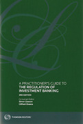 Cover of A Practitioner's Guide to the Regulation of Investment Banking