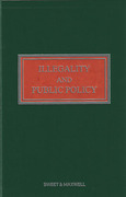 Cover of Illegality and Public Policy 3rd ed