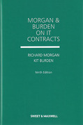 Cover of Morgan and Burden on IT Contracts