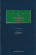 Cover of Key Authorities in Banking Law 2011-2012