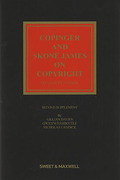 Cover of Copinger and Skone James on Copyright 16th ed: 2nd Supplement
