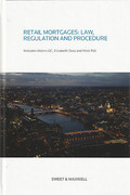 Cover of Retail Mortgages: Law, Regulation and Procedure