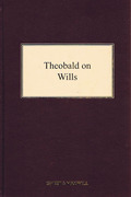Cover of Theobald on Wills 17th ed with 1st Supplement