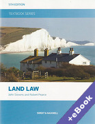 Cover of Textbook Series: Land Law (Book & eBook Pack)