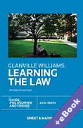 Cover of Glanville Williams: Learning the Law (Book & eBook Pack)
