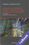 Cover of Intellectual Property: Patents, Copyright, Trade Marks and Allied Rights (Book & eBook Pack)