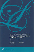 Cover of A Practitioner's Guide to the Law and Regulation of Market Abuse