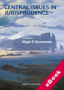 Cover of Central Issues in Jurisprudence: Justice, Law and Rights (eBook)
