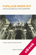 Cover of Pupillage Inside Out: How to Succeed as a Pupil Barrister (eBook)