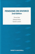 Cover of Pensions on Divorce