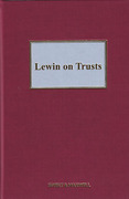 Cover of Lewin on Trusts