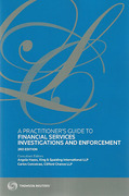 Cover of A Practitioner's Guide to Financial Services Investigations and Enforcement