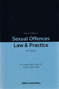 Cover of Rook and Ward on Sexual Offences: Law & Practice 4th ed with 1st Supplement