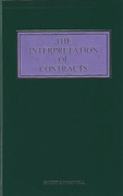 Cover of The Interpretation of Contracts 5th ed with 2nd Supplement